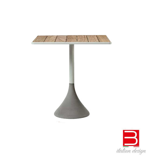 Tisch Ethimo Concreto Square