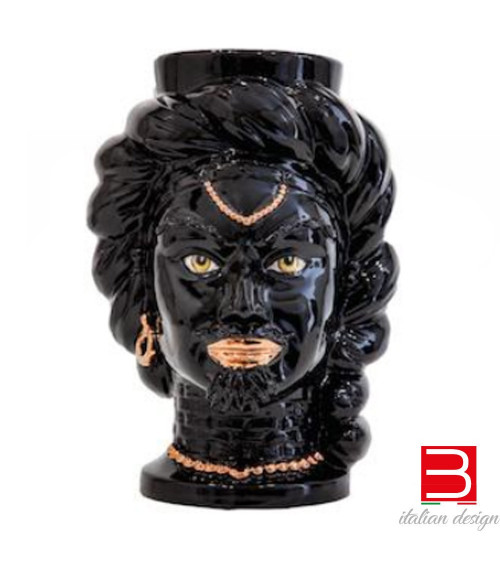 Caltagirone ceramics Agaren Testa di moro Arabi