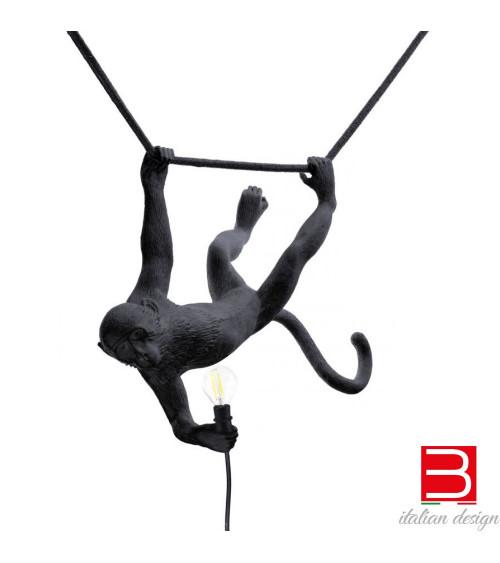 Lampada a sospensione Seletti Monkey lamp Swing