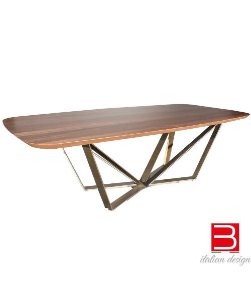 Table Reflex Papillon Bevel Wood