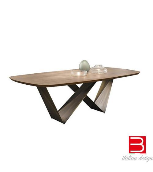 Table Reflex Prisma Bevel Wood