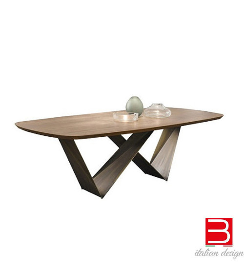 Tavolo Reflex Prisma Bevel Wood