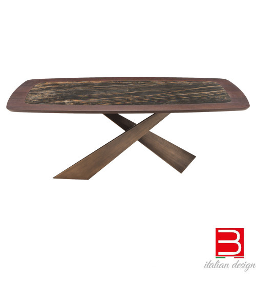 Tavolo Riflessi Living Wood Marmo