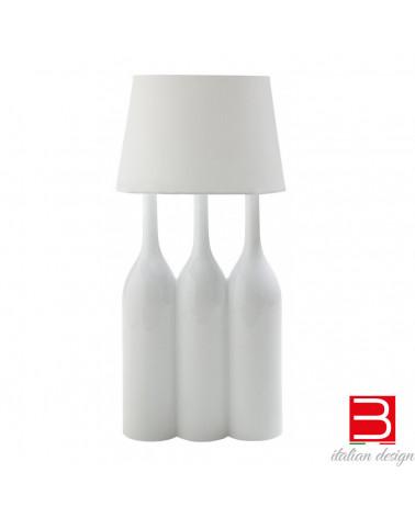 Lampe de table Bosa Champagne à deux