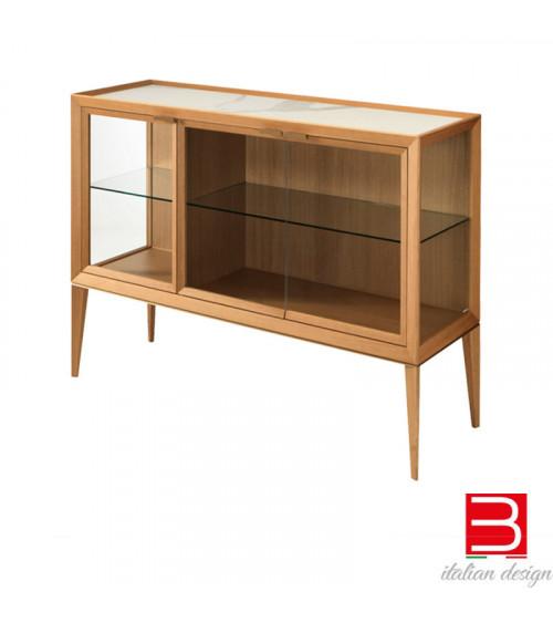 Glass display cabinet Riflessi Medea Bassa