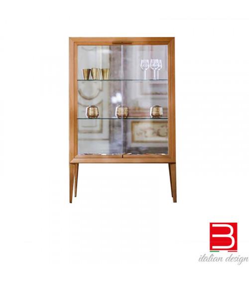 Glass display cabinet Riflessi Medea Alta