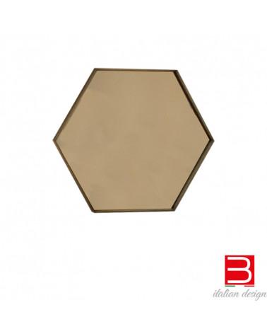 Mirror Sovet Italia Visual Hexagonal 60x52cm