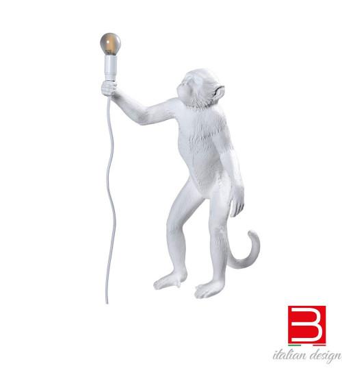 Lampada da terra Seletti Monkey Standing White