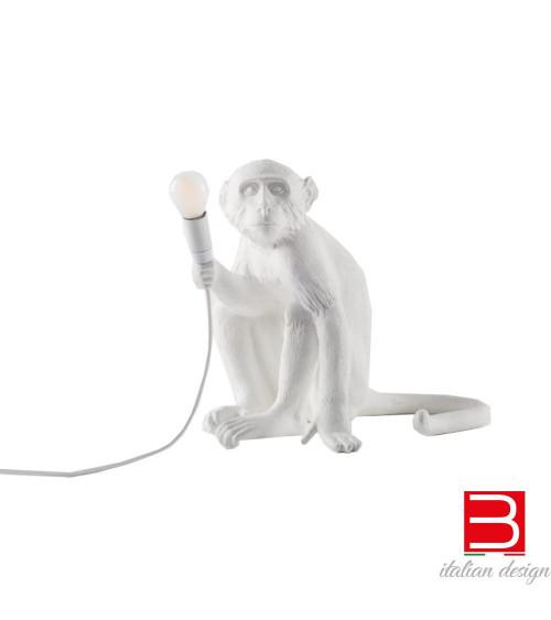 Lampada Seletti Monkey Sitting White