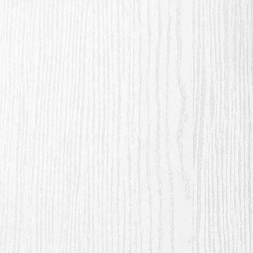 Solid wood white brushed ash