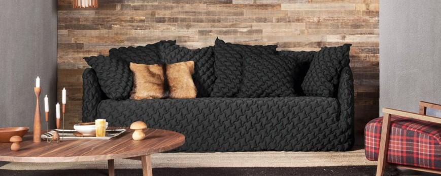 La poltrona e il divano perfetti firmati Gervasoni: Gosth 05 e Gosth 12