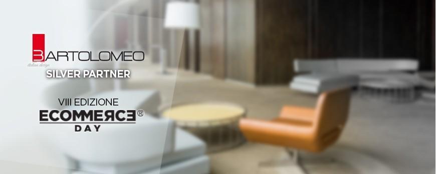 Bartolomeo Italian Design tra i partner dell'VIII edizione di EcommerceDay
