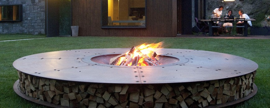 AK47: outdoor luxury brazier