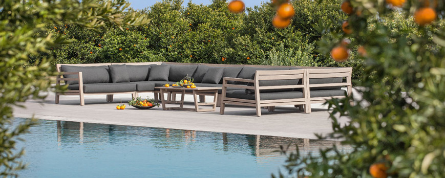 Living Outdoor: materials and design